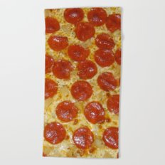 Pizza Beach Towel