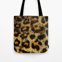 cheetah Tote Bags featuring Cheetah by Some_Designs
