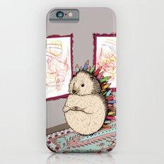Hedgehog Artist iPhone 6 Slim Case