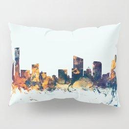 Grand Rapids Michigan Skyline Pillow Sham