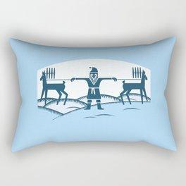 Fuss before Christmas. Rectangular Pillow