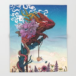 Phantasmagoria II Throw Blanket