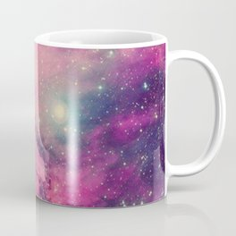 Purple Twilight Galaxy Coffee Mug