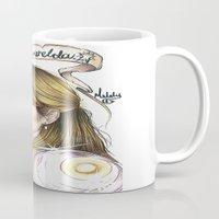 ahs Mugs featuring Maggie Esmerelda-AHS by MELCHOMM