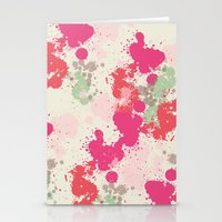 splatter Stationery Cards featuring Splatter by C Designz