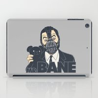 bane iPad Cases featuring Mr. Bane by Triagus