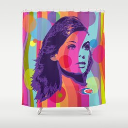 The Shrimp Shower Curtain