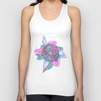 holographic Tank Tops featuring Colour Me by Belinda O'Connell