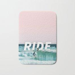 Ride The Waves Bath Mat