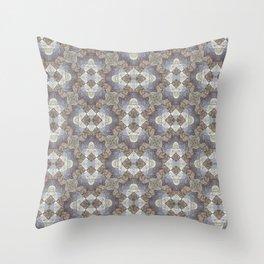 Tree Weave 4 Fabric Throw Pillow