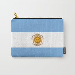 Flag of argentina -Argentine,Argentinian,Argentino,Buenos Aires,cordoba,Tago, Borges. Carry-All Pouch