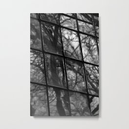 Window Pains Metal Print