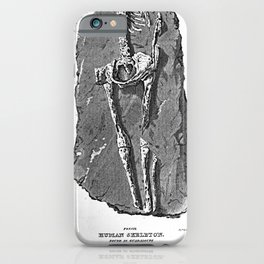 Fossil. Human Skeleton. Found in Guadaloupe iPhone Case