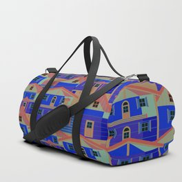 Houses pattern6 Duffle Bag