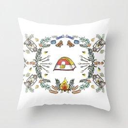 Camp Dutch Throw Pillow