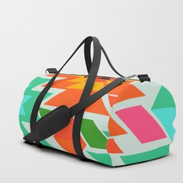 Ethnic with a tropical summer vibe Duffle Bag
