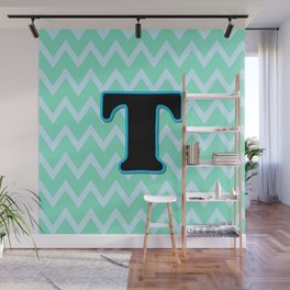 Letter T Wall Mural