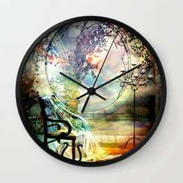A ROOM OF ONE'S OWN Wall Clock