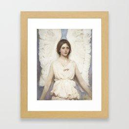 Angel by Abbott Handerson Thayer Framed Art Print