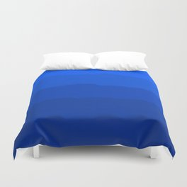 Endless Sea of Blue Duvet Cover