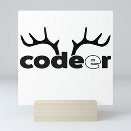 Coder Mini Art Print