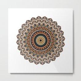 Persian Mandala Metal Print