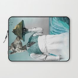 giraffe waiter with bombe alaska Laptop Sleeve