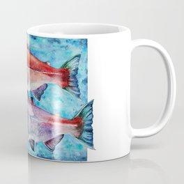 Spawning Red Salmon Coffee Mug