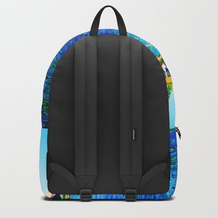 Bright River Flowing Backpack