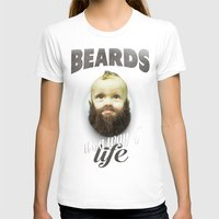 toddler T-shirts featuring Beard boy by HappyMelvin