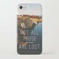wander iPhone & iPod Cases featuring Wander by Tina Crespo