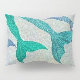 Glistening Mermaid Tails Pillow Sham