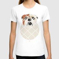 bulldog T-shirts featuring Bulldog by SaveTheDogs.es