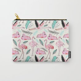 Flamingos Forever Carry-All Pouch