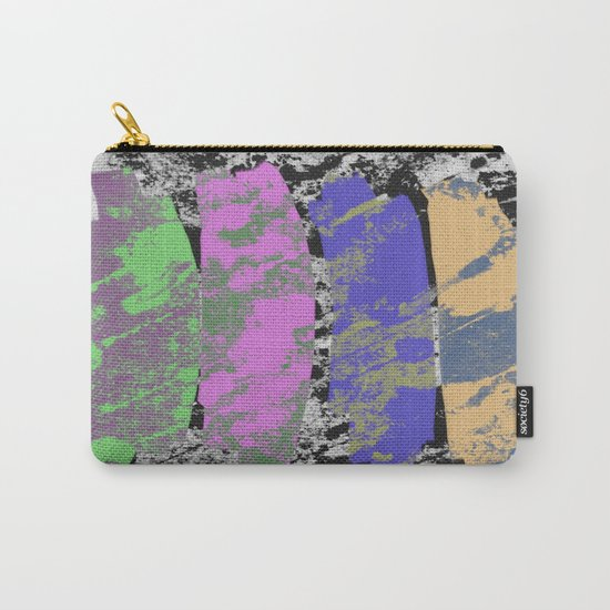 All 4 One - Abstract, textured artwork Carry-All Pouch