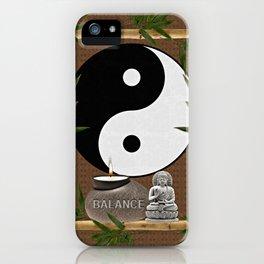The Balance of Yin Yang iPhone Case