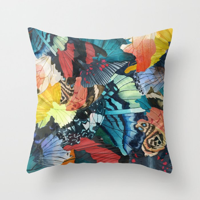 Fallen Throw Pillow