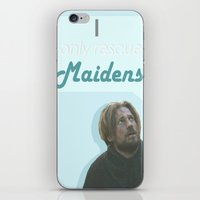 iron maiden iPhone & iPod Skins featuring Maiden by Passion Grows Within