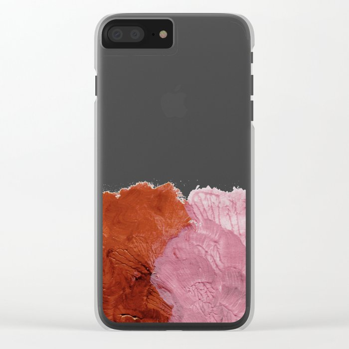 Cohesion Clear iPhone Case