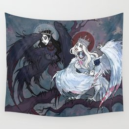 Sirin and Alkonost Wall Tapestry