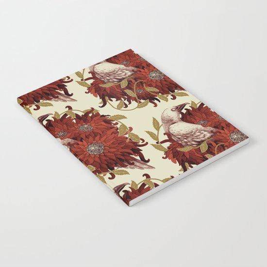 Bird and Flowers Notebook