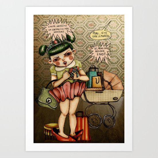Consumismo Art Print