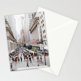 Wall Street Hustle Stationery Cards