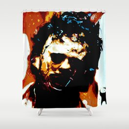 Leatherface Shower Curtain