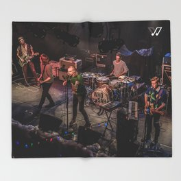 Whosah - Live Throw Blanket