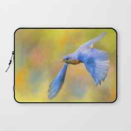 Bluebird Spring Flight Laptop Sleeve