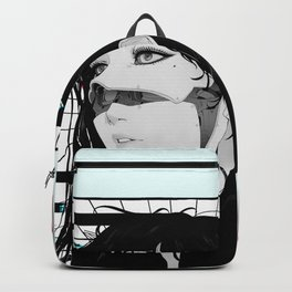Cyberpunk Vaporwave Aesthetic Style Backpack
