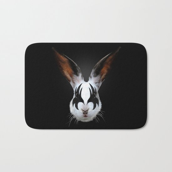 Kiss of a Rabbit Bath Mat