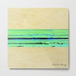 Modern Movement 001 - Corbin Henry Signed - Abstract Landscape Canvas Art - Seascape - Ocean Metal Print