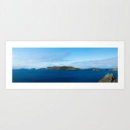 Blasket Islands Art Print